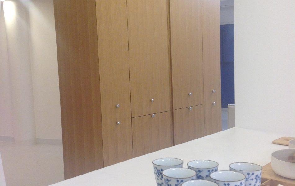 דירה כפולה בבת-ים - מבט מהמטבח