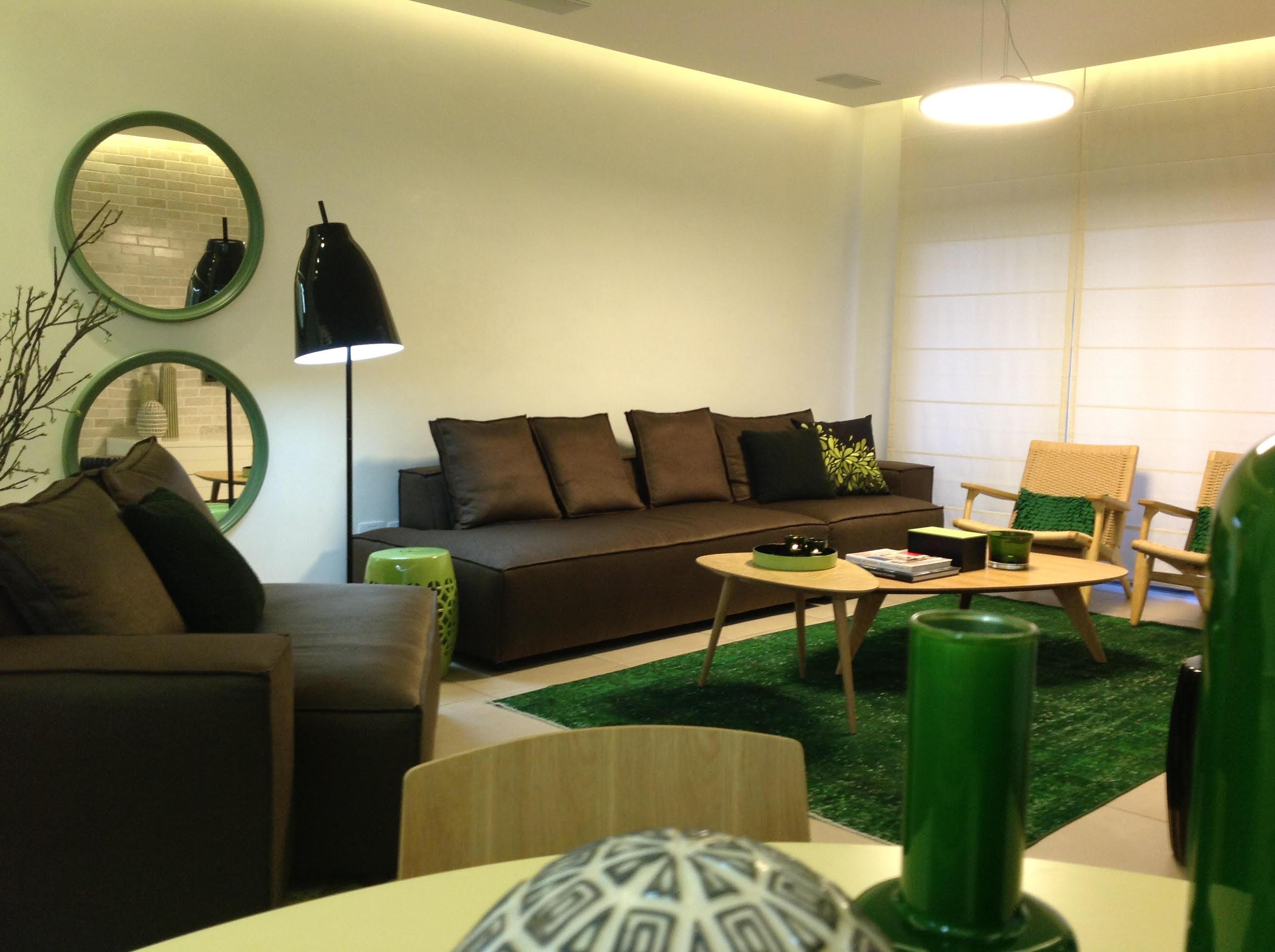 חלל מגורים בדירה בנתניה - פינת ישיבה