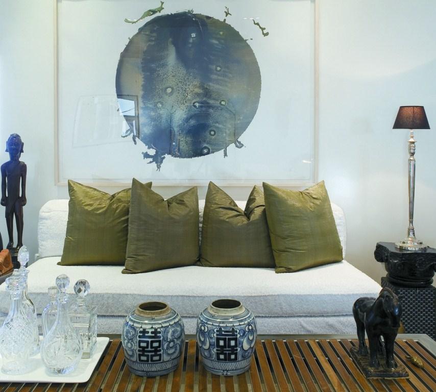 דירה במרכז תל-אביב - חלל מגורים