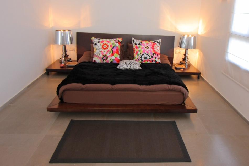 דירה בנווה צדק - חדר השינה