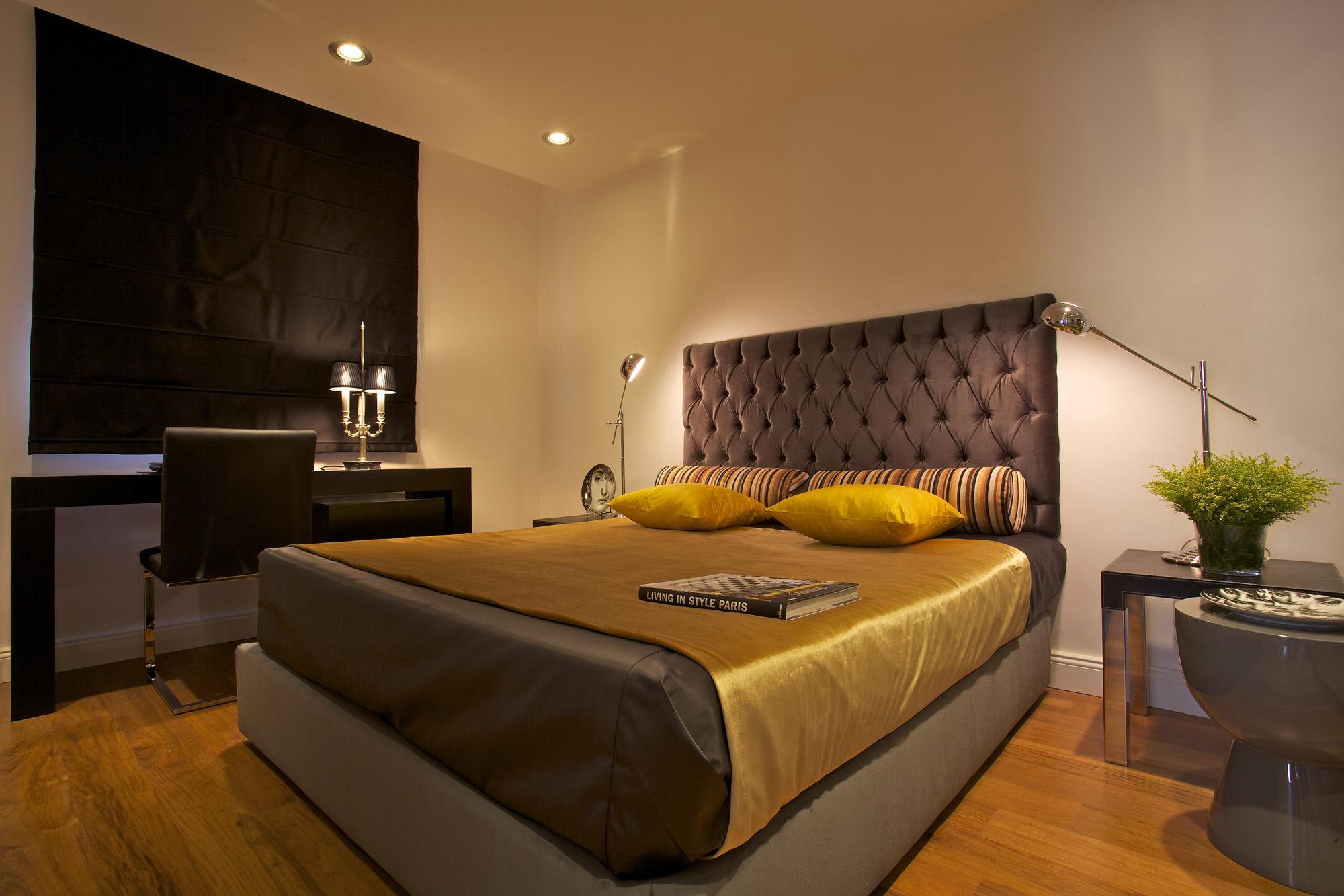 דירת גג במרכז תל-אביב - חדר שינה
