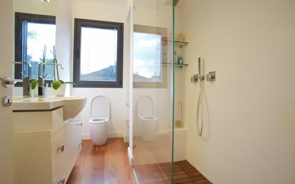 דירה במרכז תל-אביב - חדר רחצה כללי