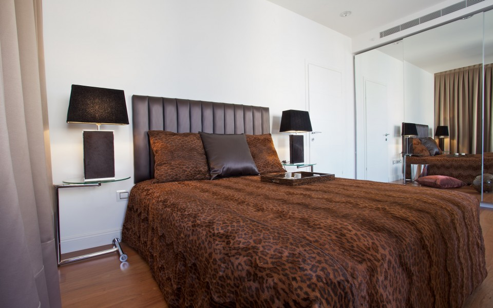 דירה במרכז תל-אביב - חדר שינה