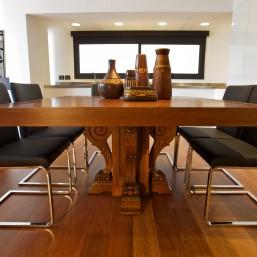 דירת גג במרכז תל-אביב - פינת האוכל