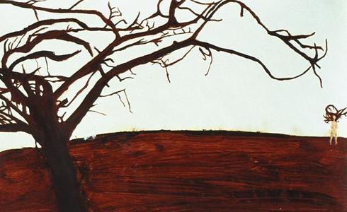 עבודה של נעמה הרפז מהתערוכה 'הבדידות יפה לה'