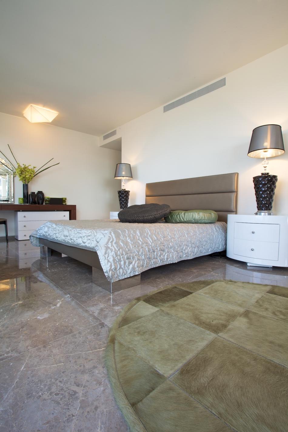 דירה במגדל YOO – חדר שינה, מראה כללי