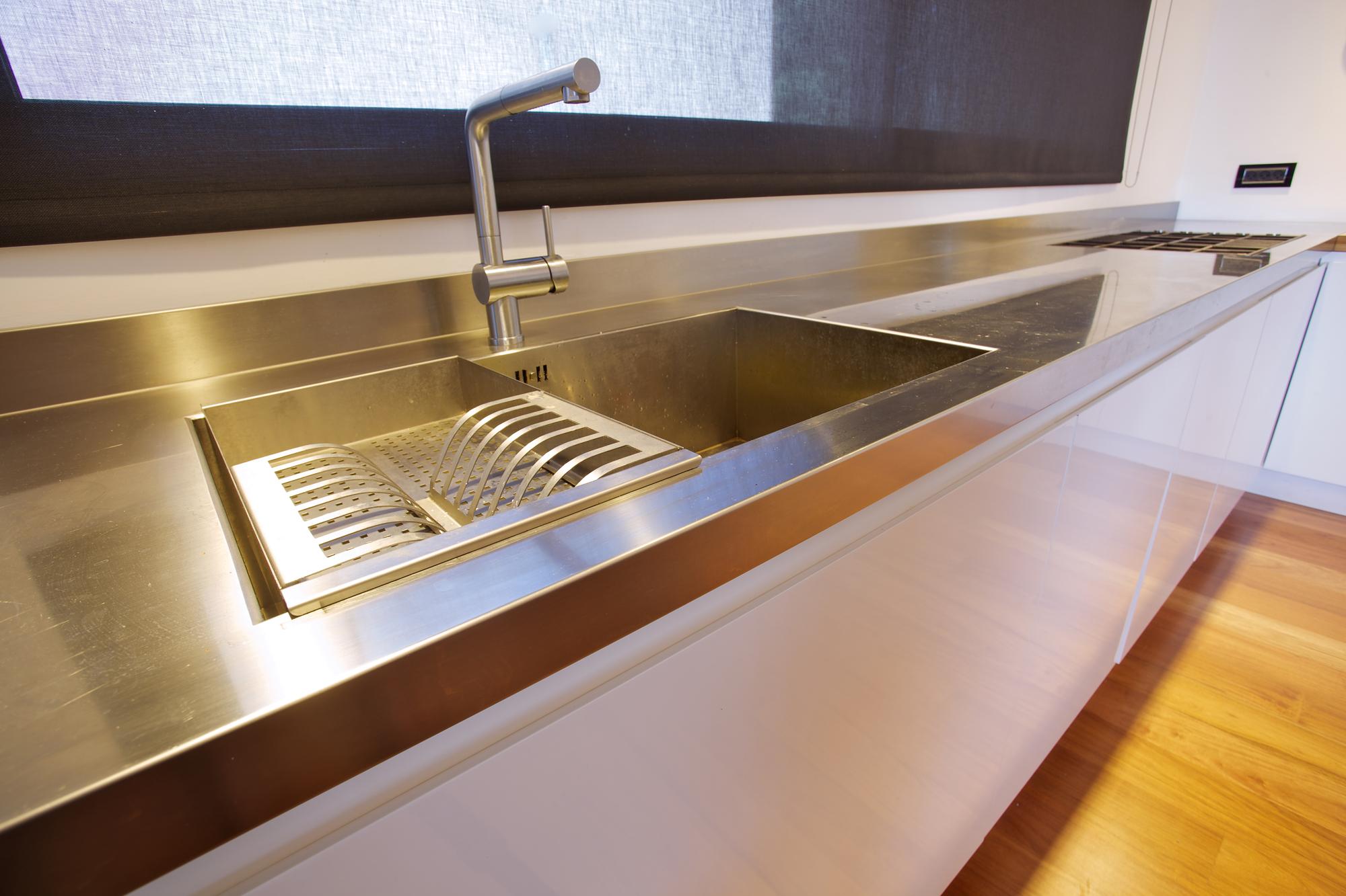 דירת גג במרכז תל-אביב – מטבח