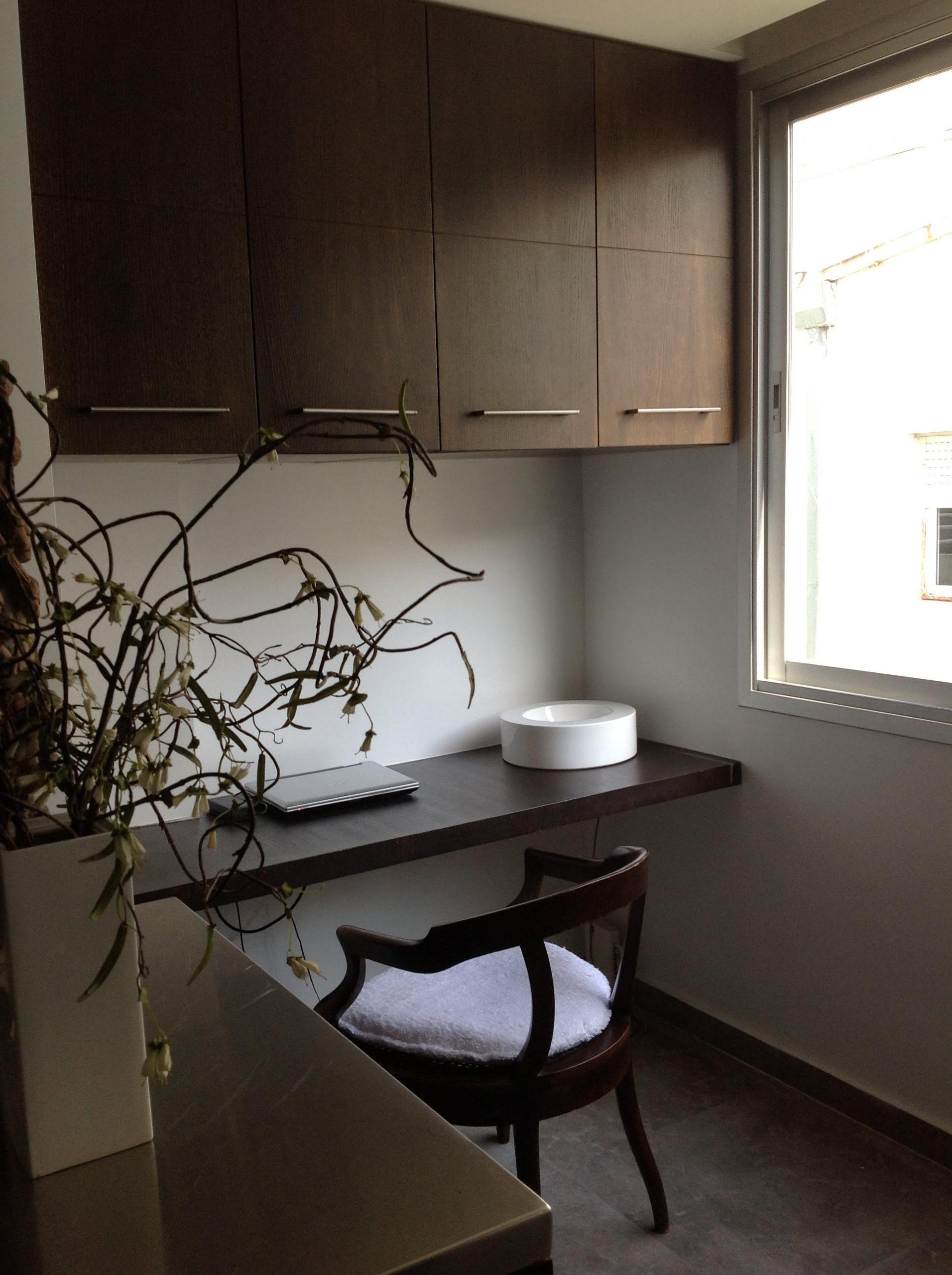 דירה במרכז תל-אביב – פינת עבודה